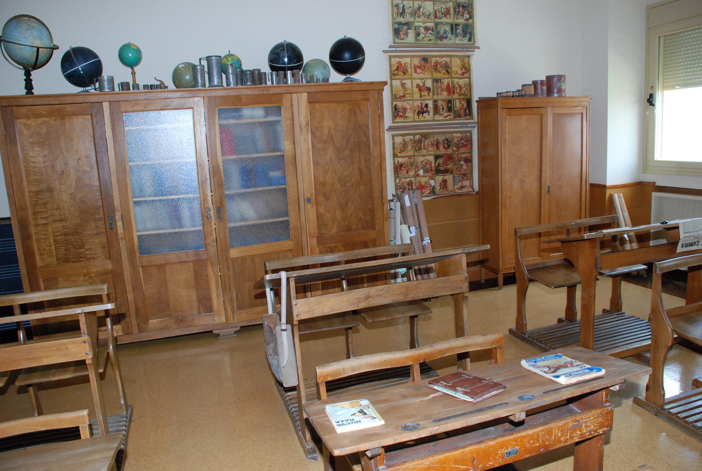 Muestra de una de las aulas pertenecientes al centro