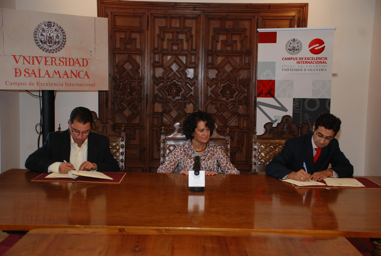 El Parque Científico de la Universidad de Salamanca suscribe un convenio con la empresa Verial Soft