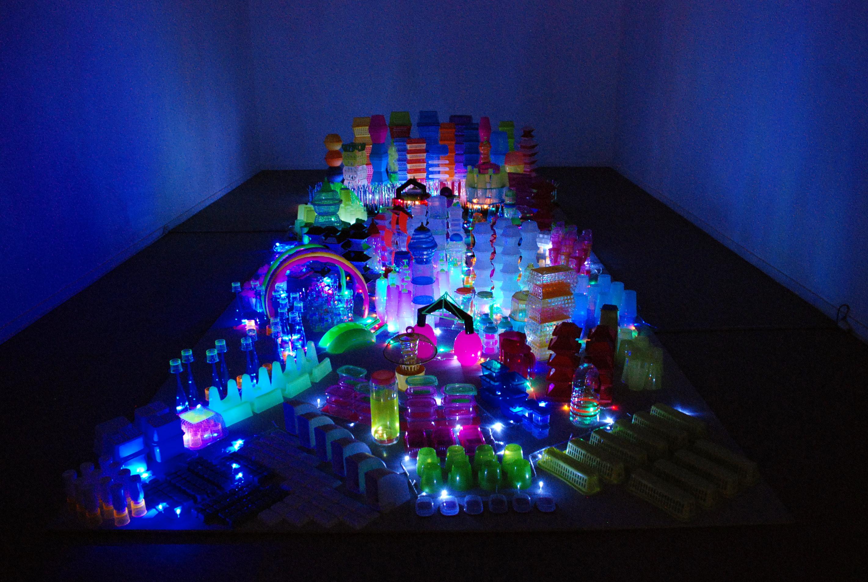 El Espacio de Arte Experimental de la Universidad de Salamanca acoge la obra 'Kapytal', de Laura Ramis