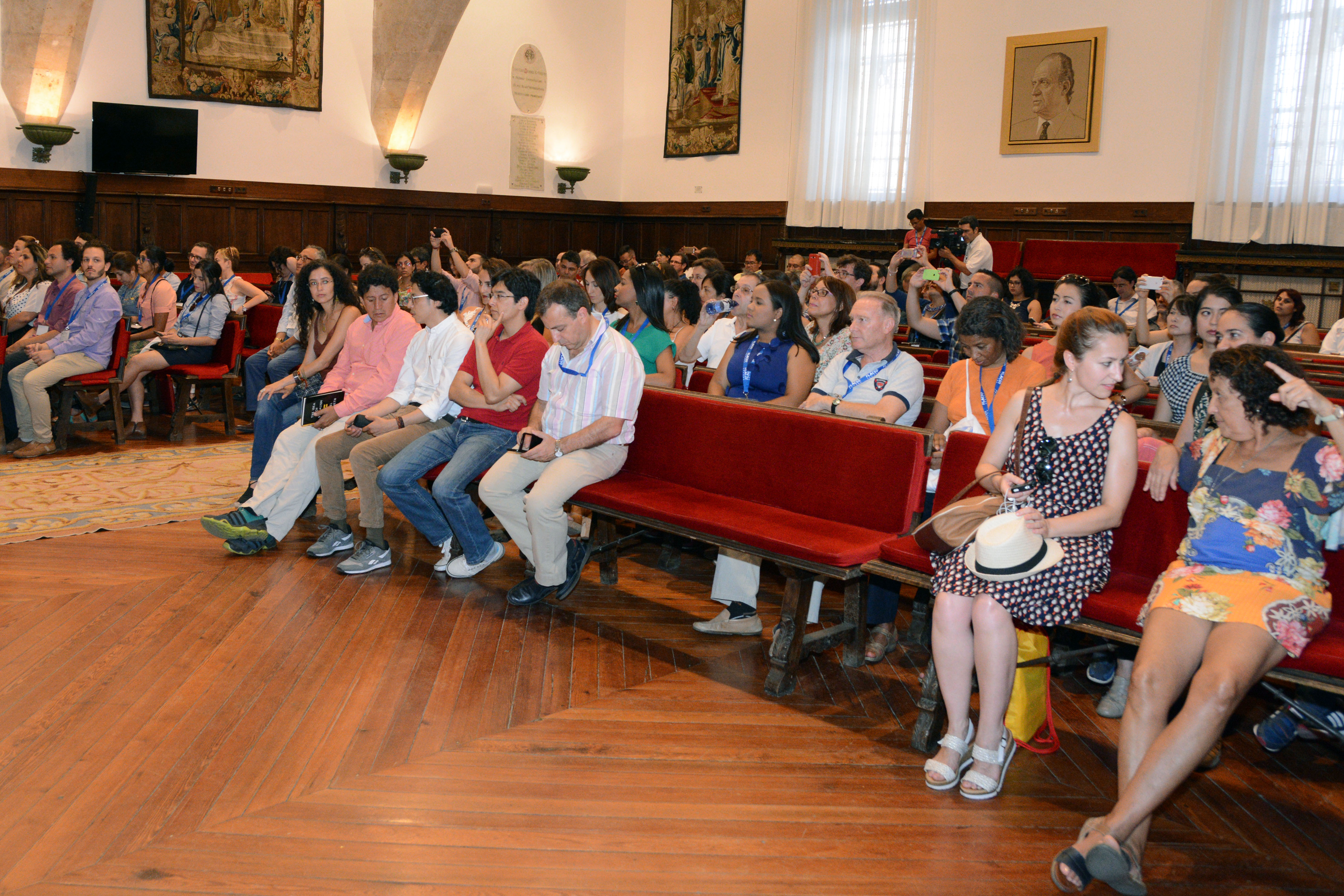 El vicerrector para la Conmemoración para el VIII Centenario inaugura el IV Congreso Latinoamericano y Caribeño de Ciencias Sociales organizado por FLACSO España