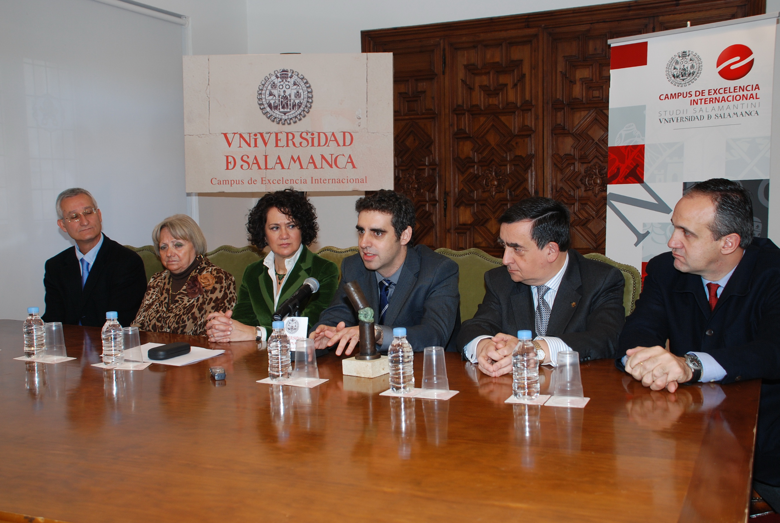 "Presentación del I Premio Nacional de Investigación en Cáncer ""Doctores Diz Pintado"""