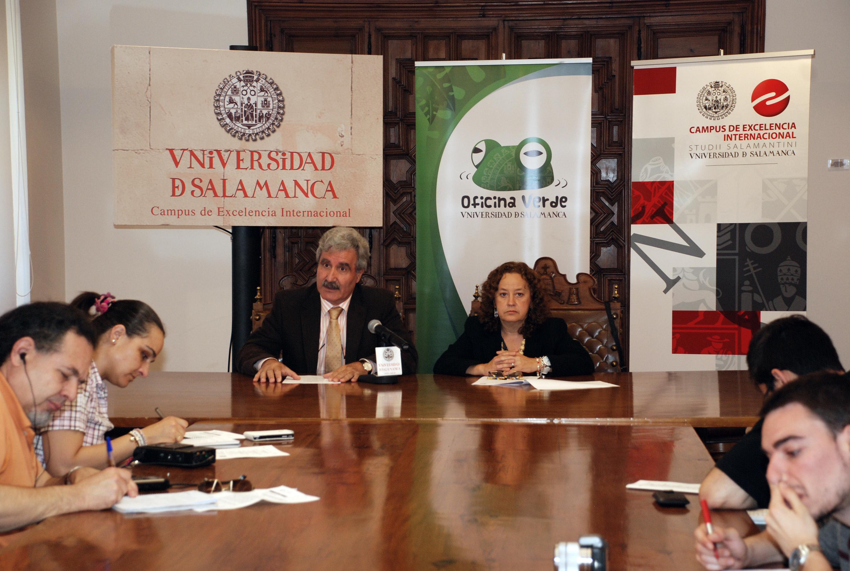 La Universidad de Salamanca acoge la reunión de la comisión sectorial de calidad ambiental de la CRUE