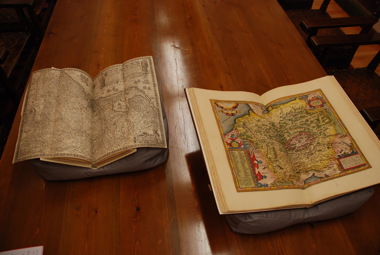 El Centro de Conservación y Restauración de Bienes Culturales de Castilla y León restaura dos atlas del siglo XVII