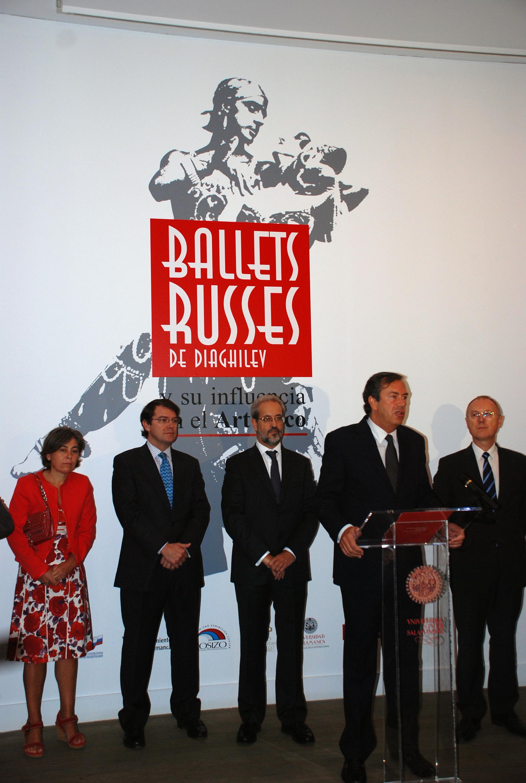 Inauguración de la exposición 'Los Ballets Russes de Diaghilev y su influencia en el Art Déco'