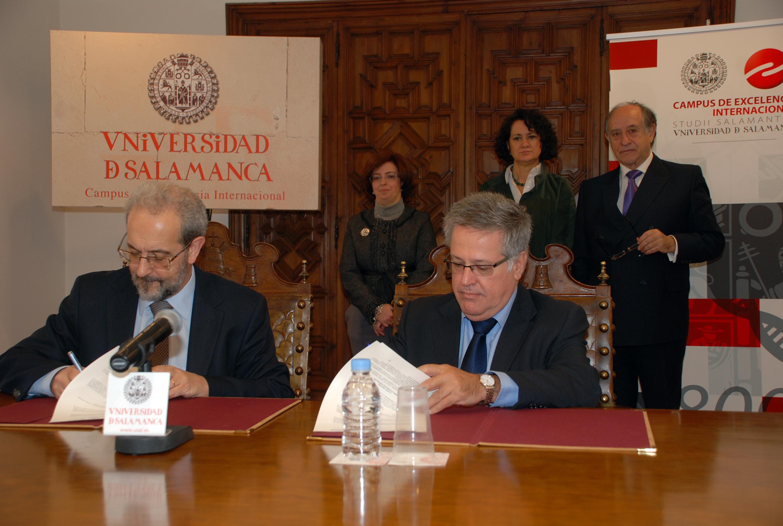 """Firma de convenio con el Ministerio de Ciencia, Tecnología e Innovación de Brasil para impulsar con el programa """"Ciencia sin Fronteras""""."""