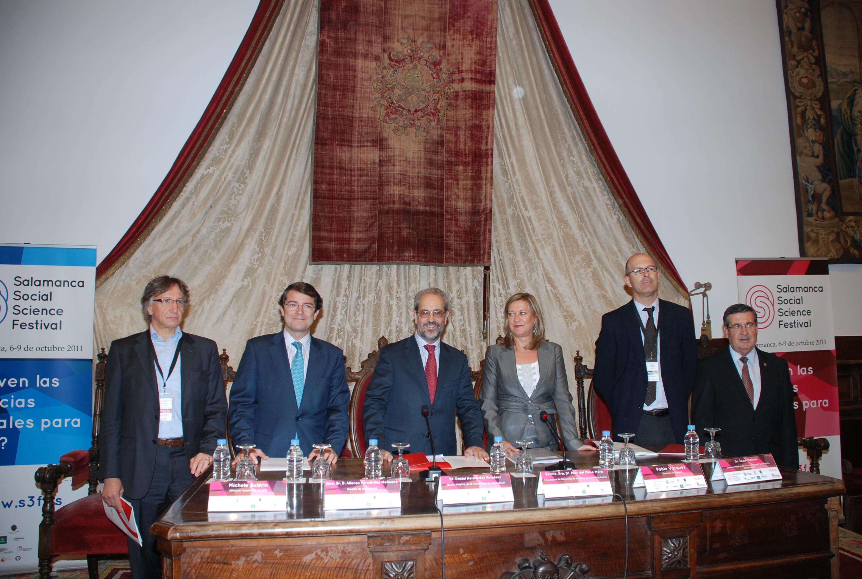 Inauguración del 'Salamanca Social Science Festival'
