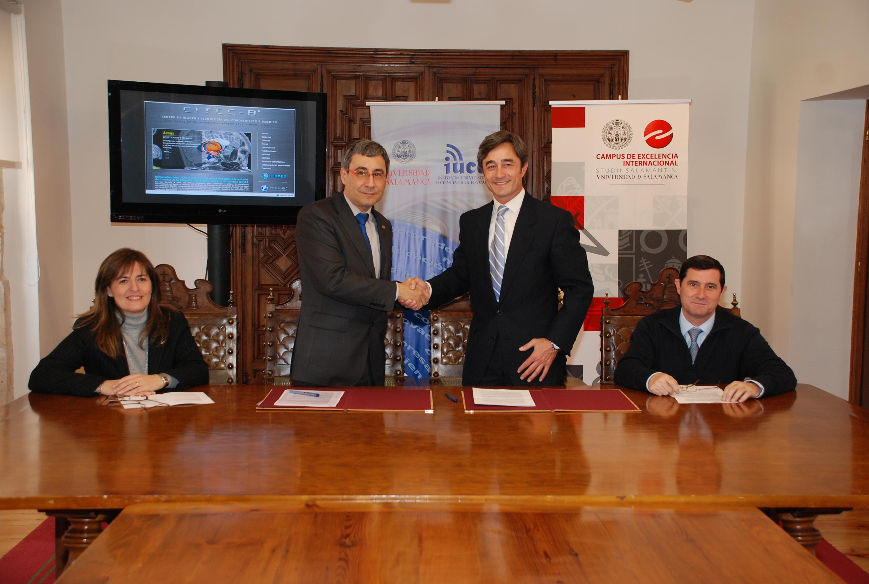 El Instituto de Ciencias de la Educación y el Centro de Imagen y Tecnología del Conocimiento Biomédico de Madrid suscriben un convenio de colaboración