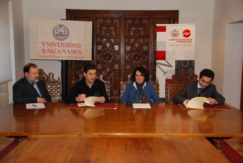 La Universidad de Salamanca suscribe un convenio de colaboración con la empresa Biogás Pata Negra