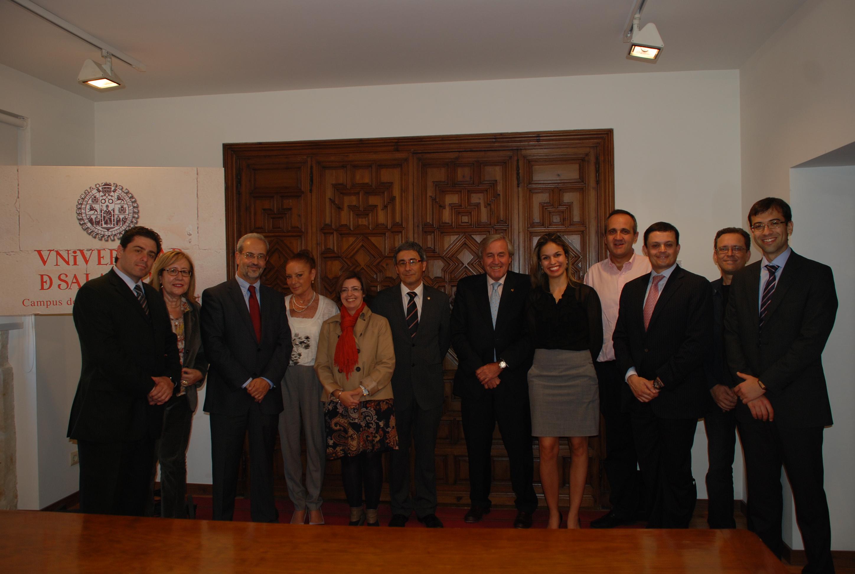 Las universidades de Salamanca y Sao Paulo estudian crear un doctorado conjunto en el ámbito del Derecho Penal