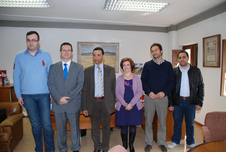 El consejero cultural de la Embajada de la República Árabe de Egipto visita la Universidad de Salamanca