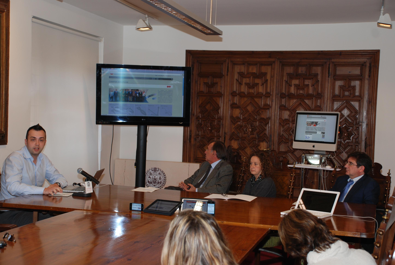 Presentación de la página web del Campus de Excelencia Internacional 'Studii Salamantini'