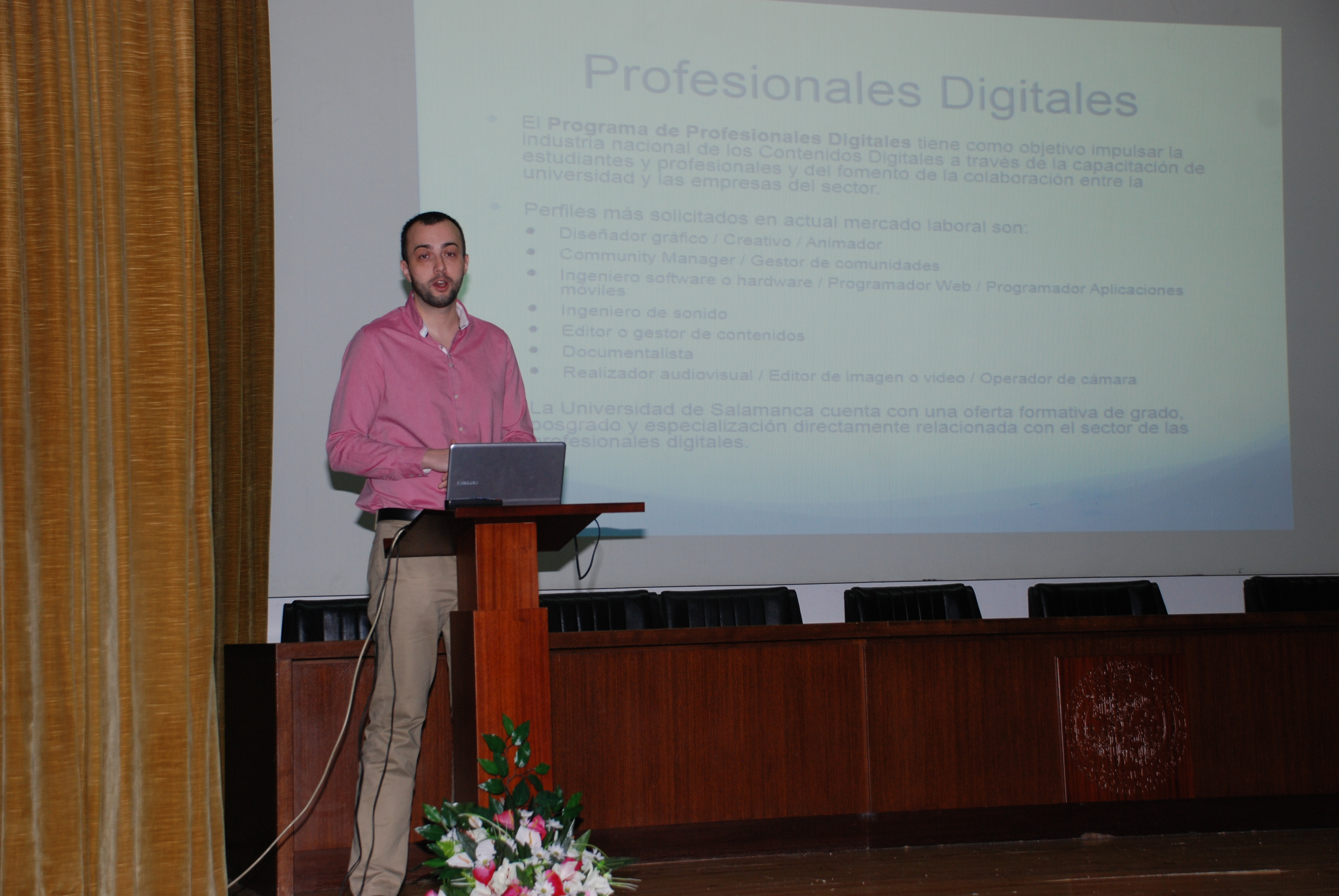 La Universidad de Salamanca acoge una jornada de puertas abiertas en el marco del programa 'Profesionales Digitales'