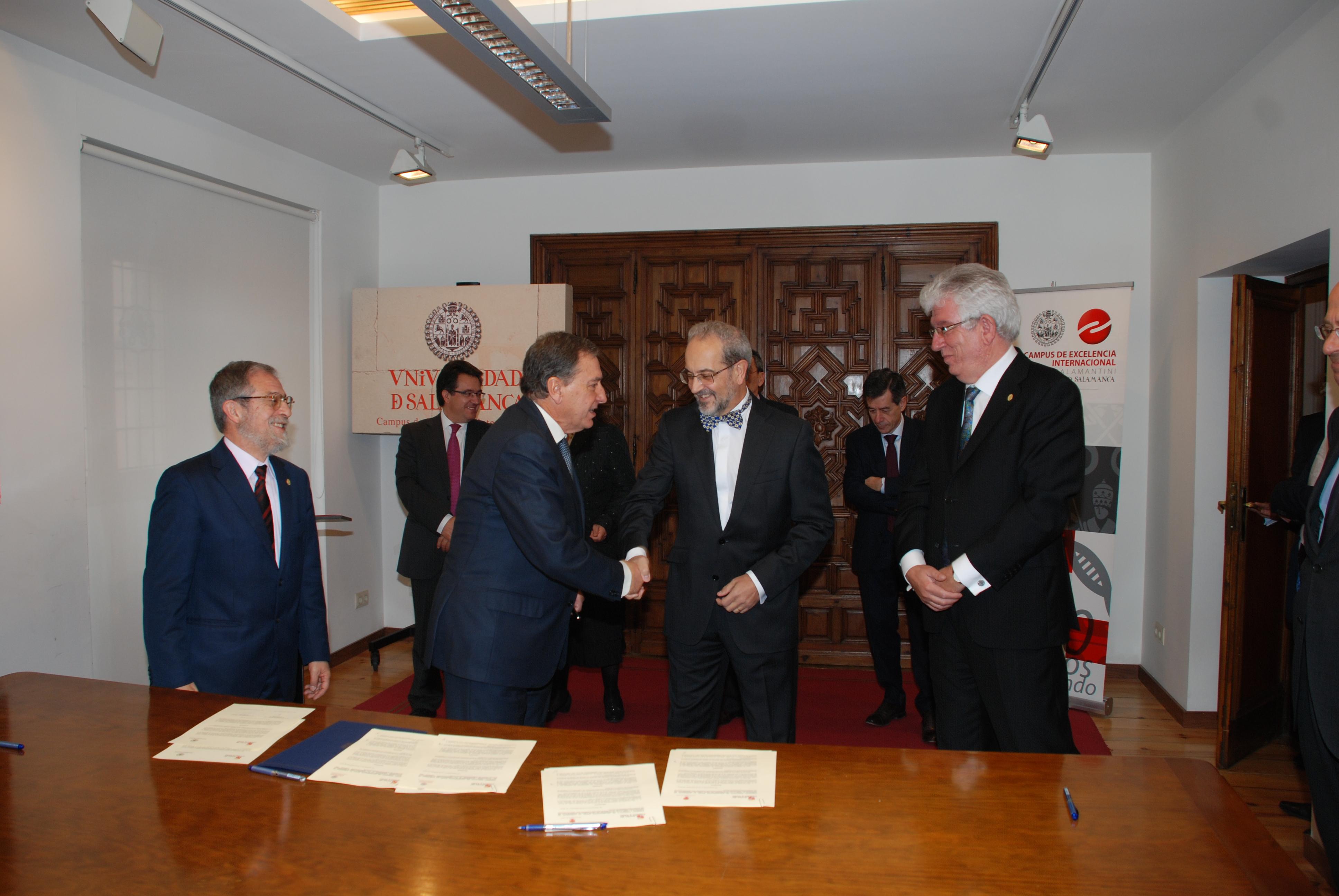 La Universidad de Salamanca colabora con la Consejería de Educación de Castilla y León en el desarrollo del Bachillerato de Investigación/Excelencia