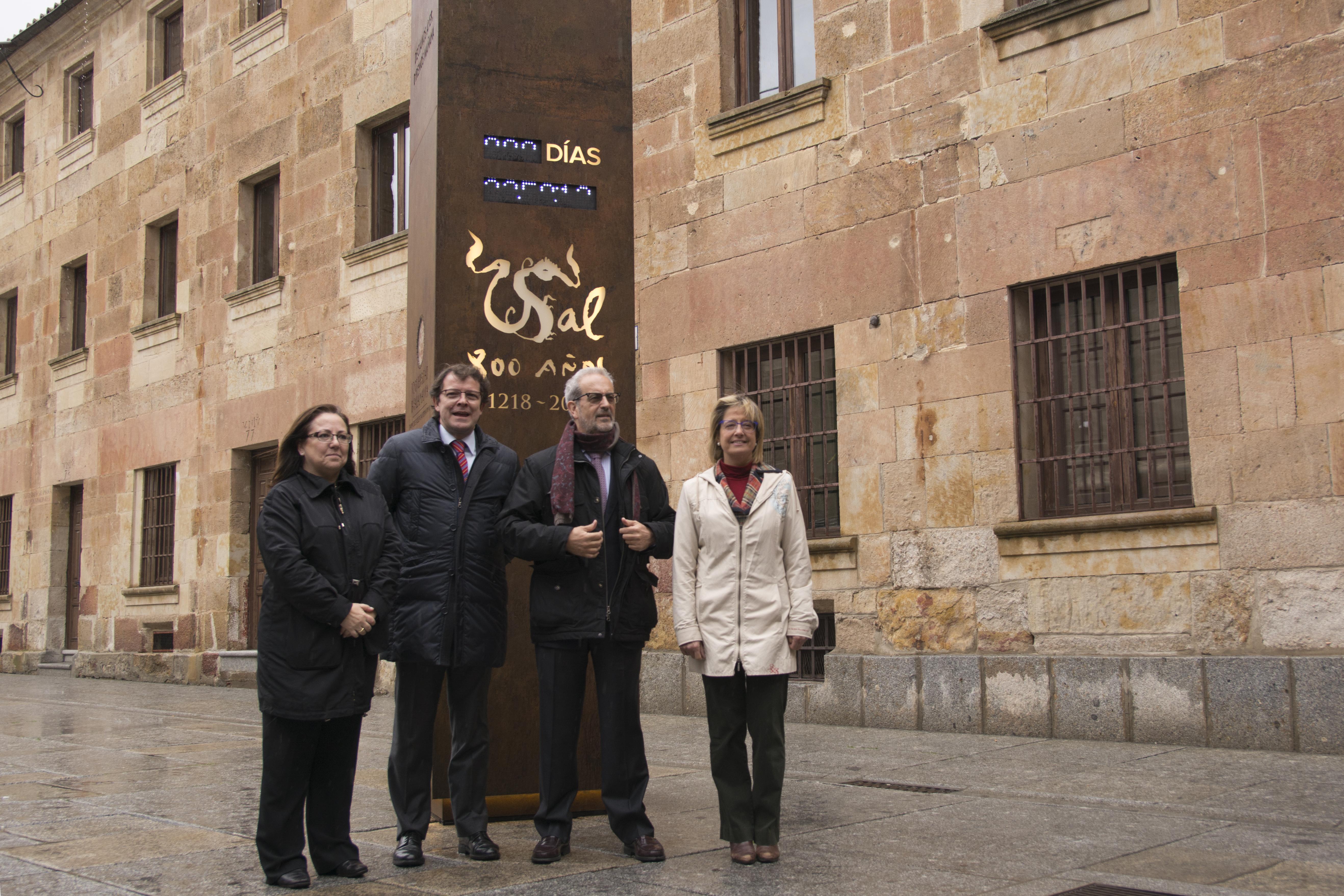 Un reloj ubicado en el Patio de Escuelas Mayores señalará la cuenta atrás para el VIII Centenario