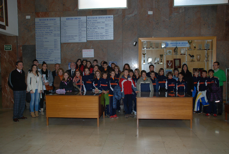 Inicio de las visitas guiadas a la Sala de las Tortugas en el curso 2011-2012.