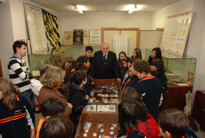 Inicio de las visitas guiadas a la Sala de las Tortugas en el curso 2011-2012