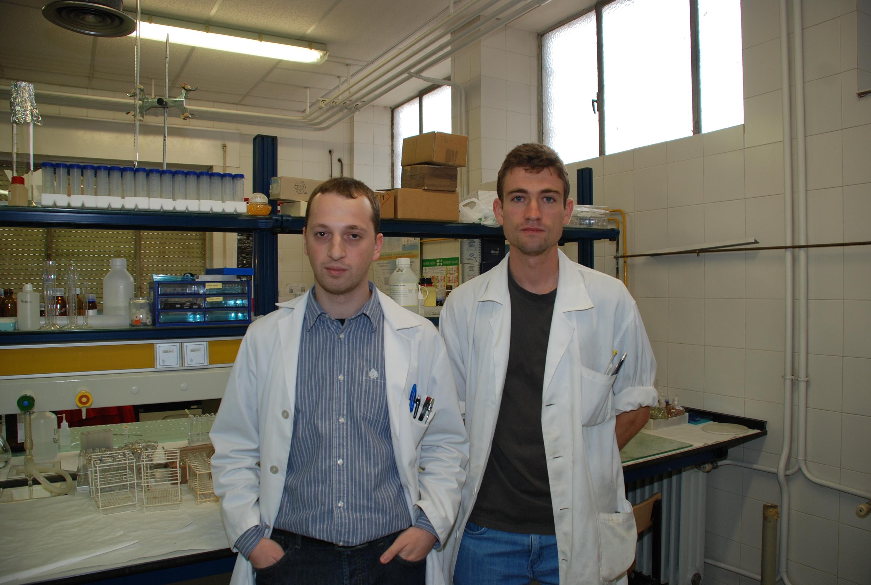 Los doctorandos de la Usal Ángel Fuentes y Diego García, galardonados en los IX Premios de Investigación de la Farmacéutica Lilly