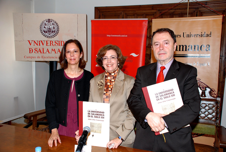 """Presentación del libro """"La Universidad de Salamanca en el siglo XIII. Constituit scholas fieri Salamanticae"""""""