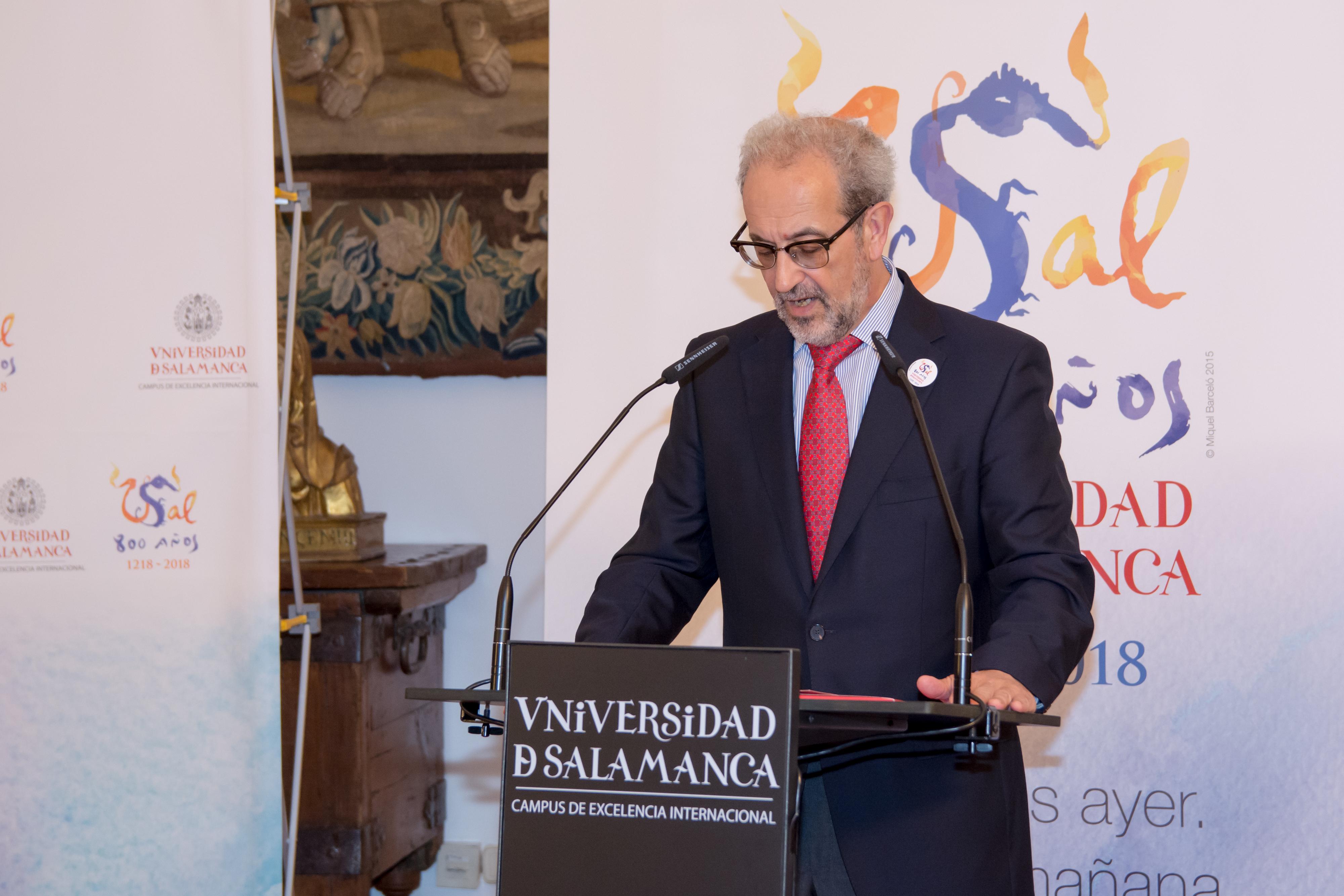 La Universidad de Salamanca incorpora el Centro Internacional de Referencia del Español a sus proyectos del VIII Centenario