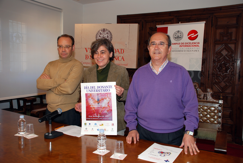 La Universidad de Salamanca celebra el Día del Donante Universitario con la instalación de mesas informativas en todos sus campus