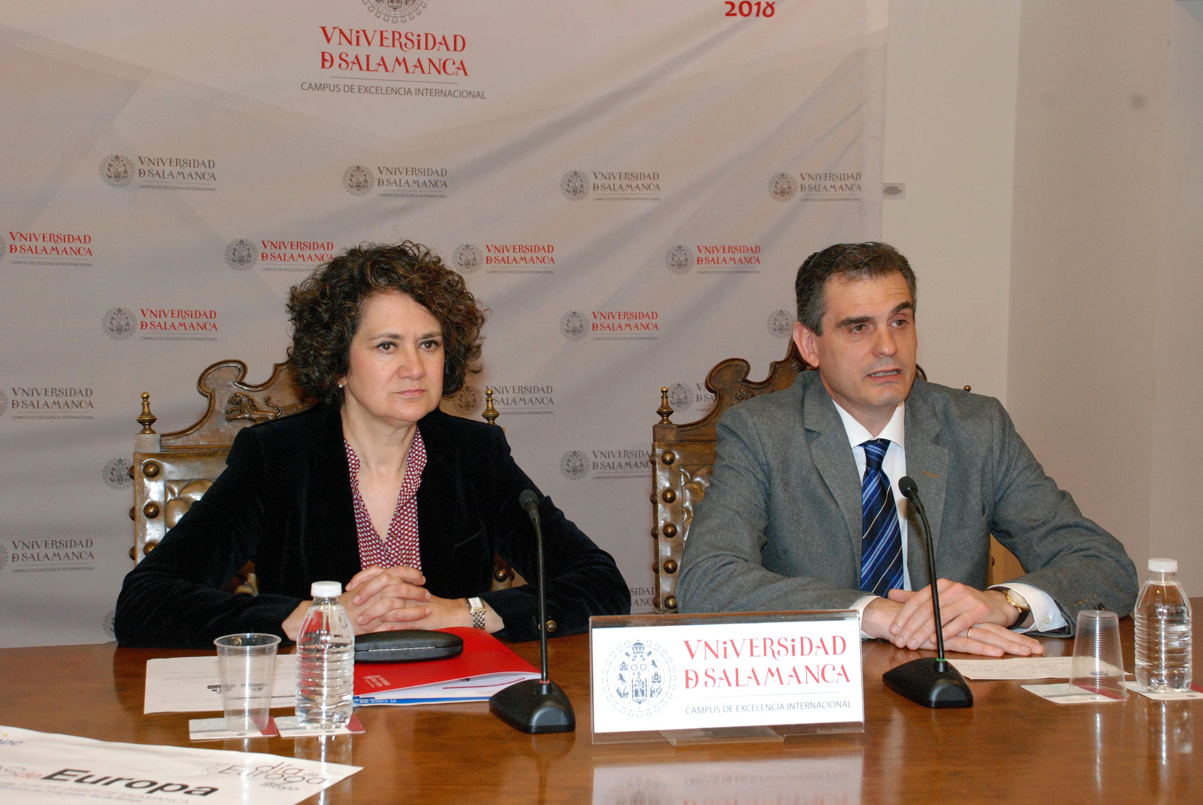 La Universidad de Salamanca celebra el Día de Europa con un amplio programa de actividades dirigido a todos los públicos