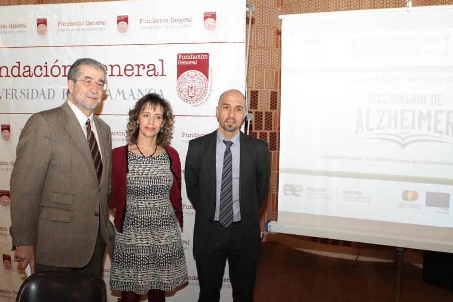 La Fundación General de la Universidad de Salamanca  presenta el proyecto 'Diccionario de Alzhéimer'