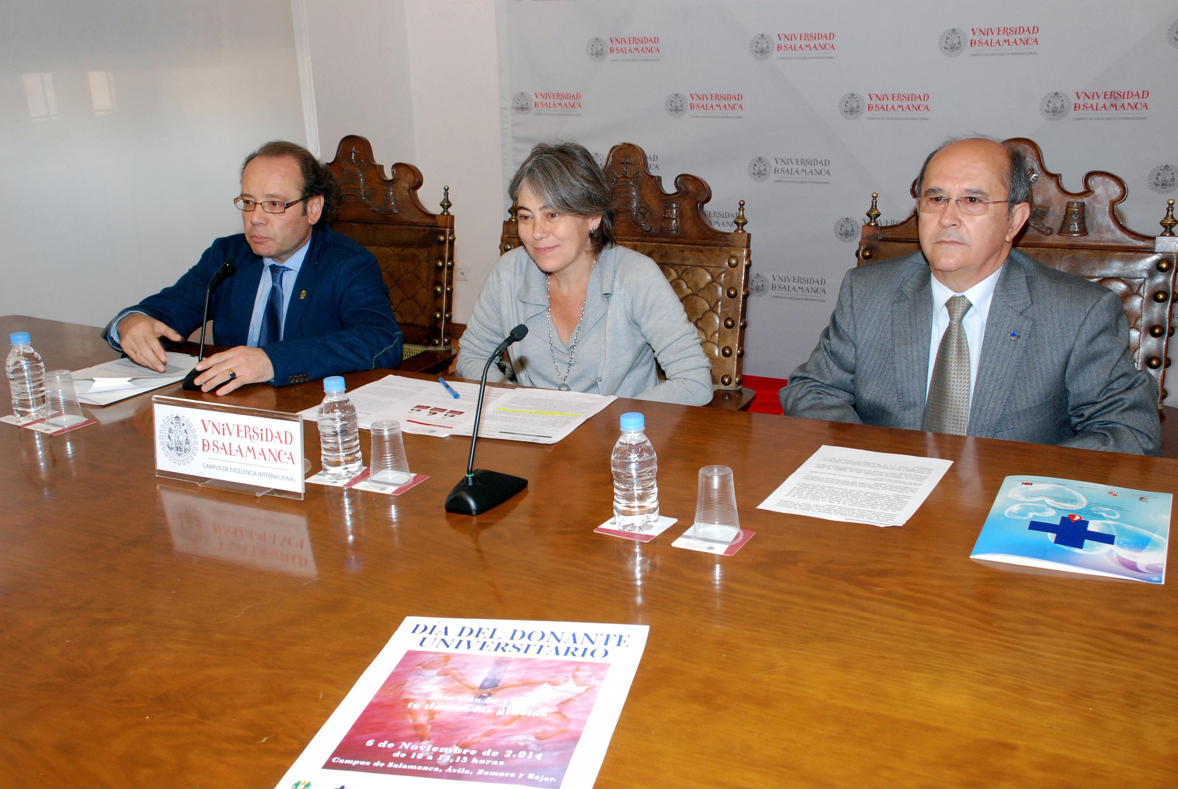 El XI Día del Donante Universitario contará con mesas informativas en los campus de Ávila, Béjar, Salamanca y Zamora