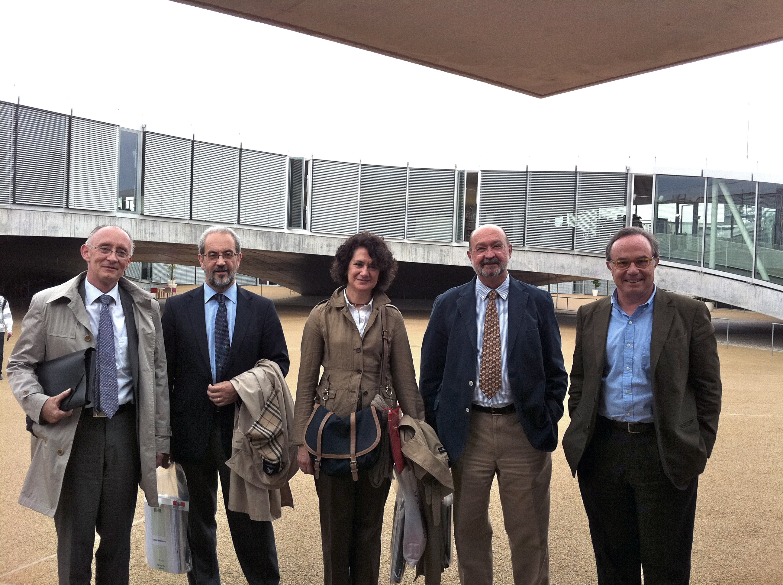 Visita institucional a la Escuela Politécnica Federal de Lausana