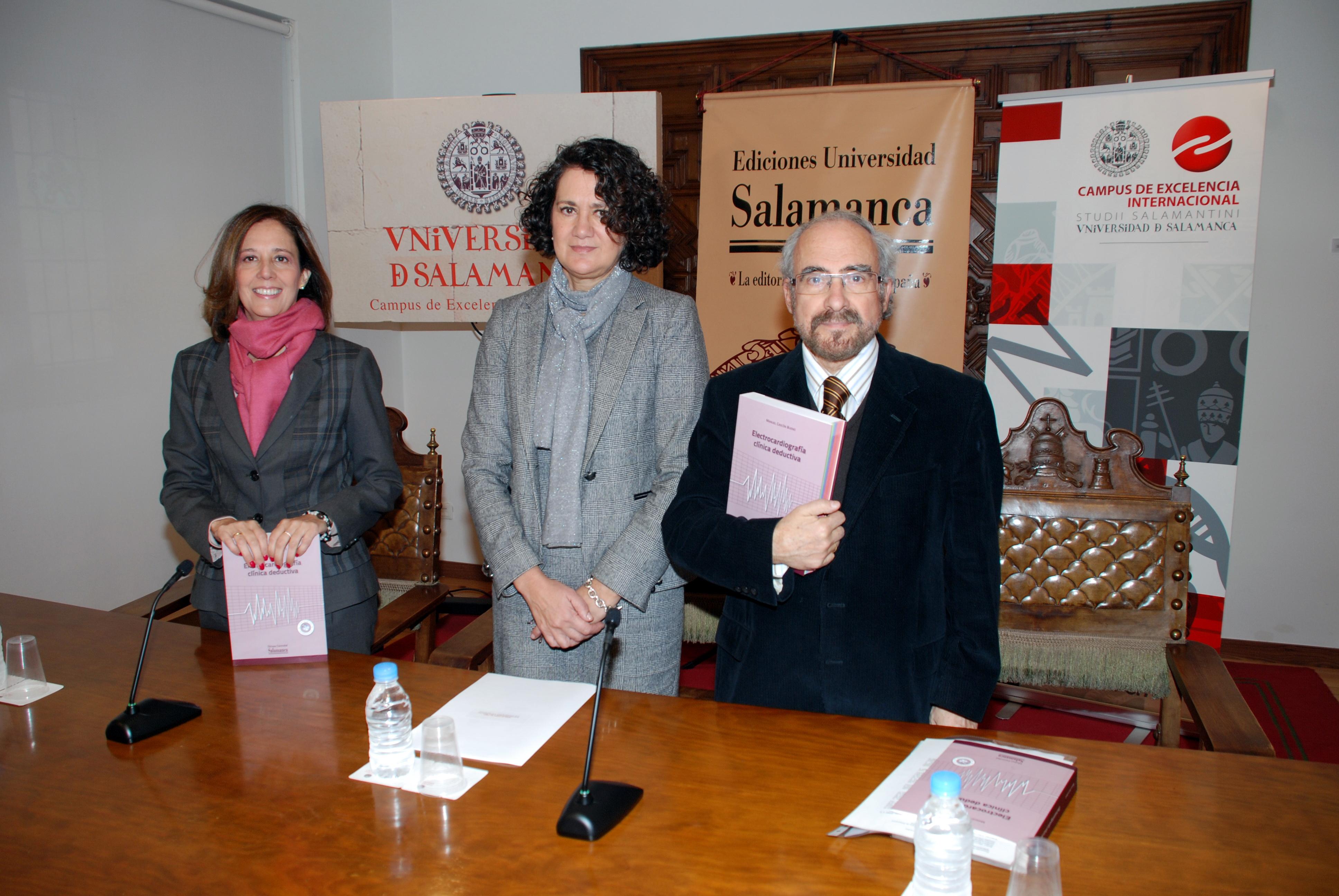 Ediciones Universidad de Salamanca presenta una obra que profundiza en el uso e interpretación del electrocardiograma