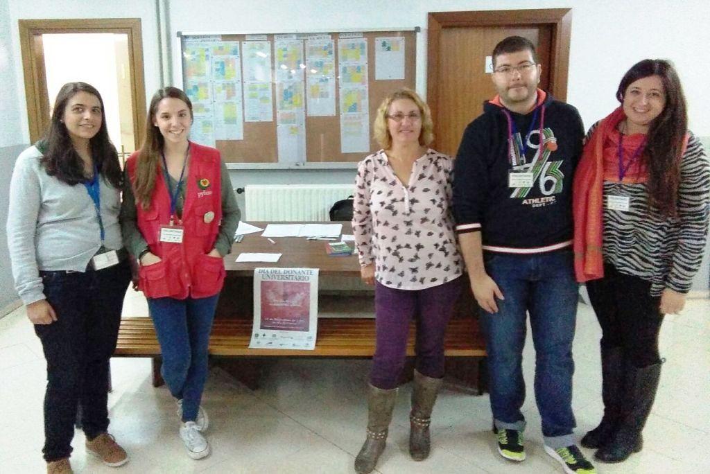Cerca de 600 miembros de la Universidad de Salamanca demuestran su solidaridad en el Día del Donante Universitario
