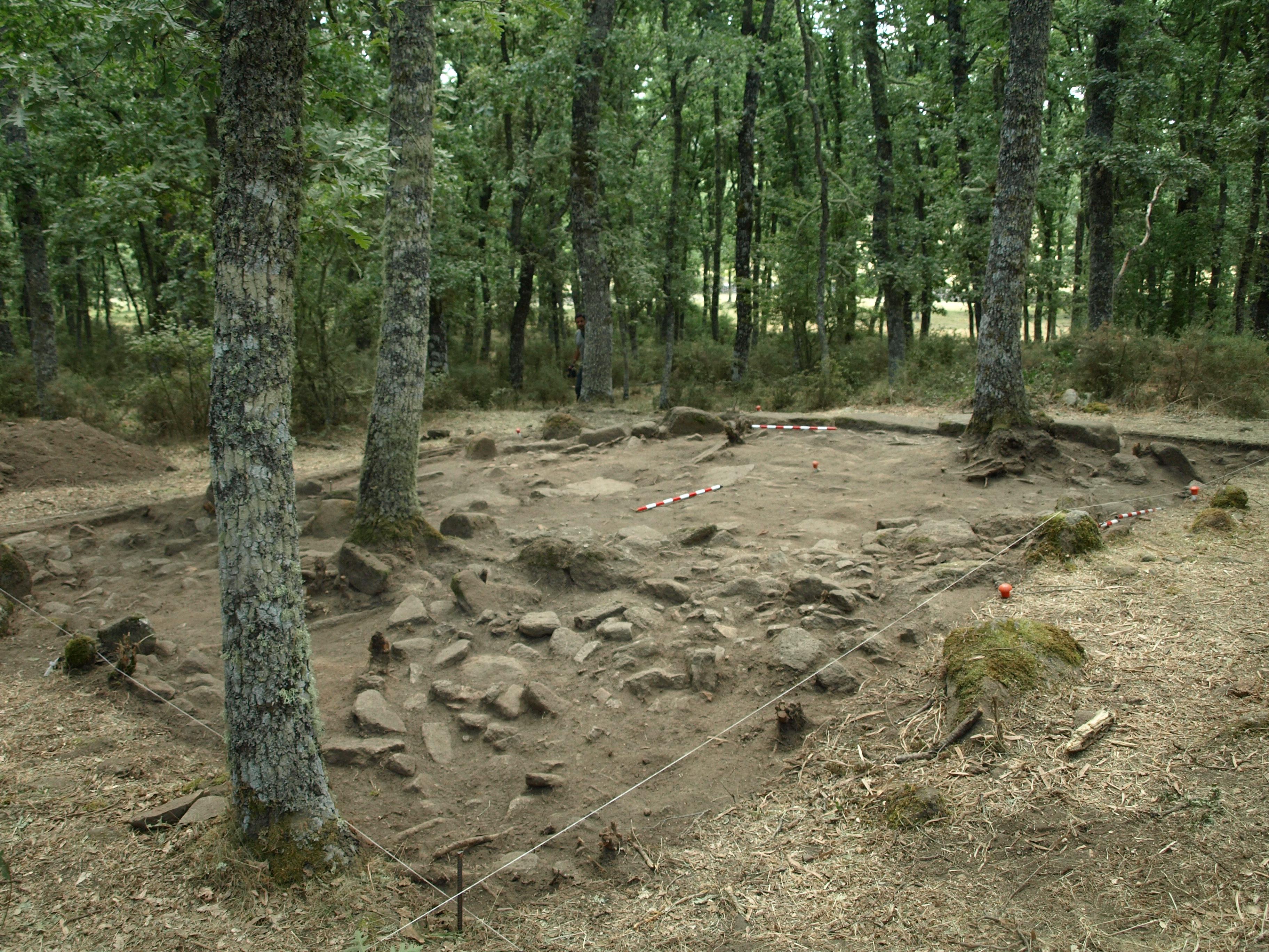Excavación arqueológica de El Rebollar
