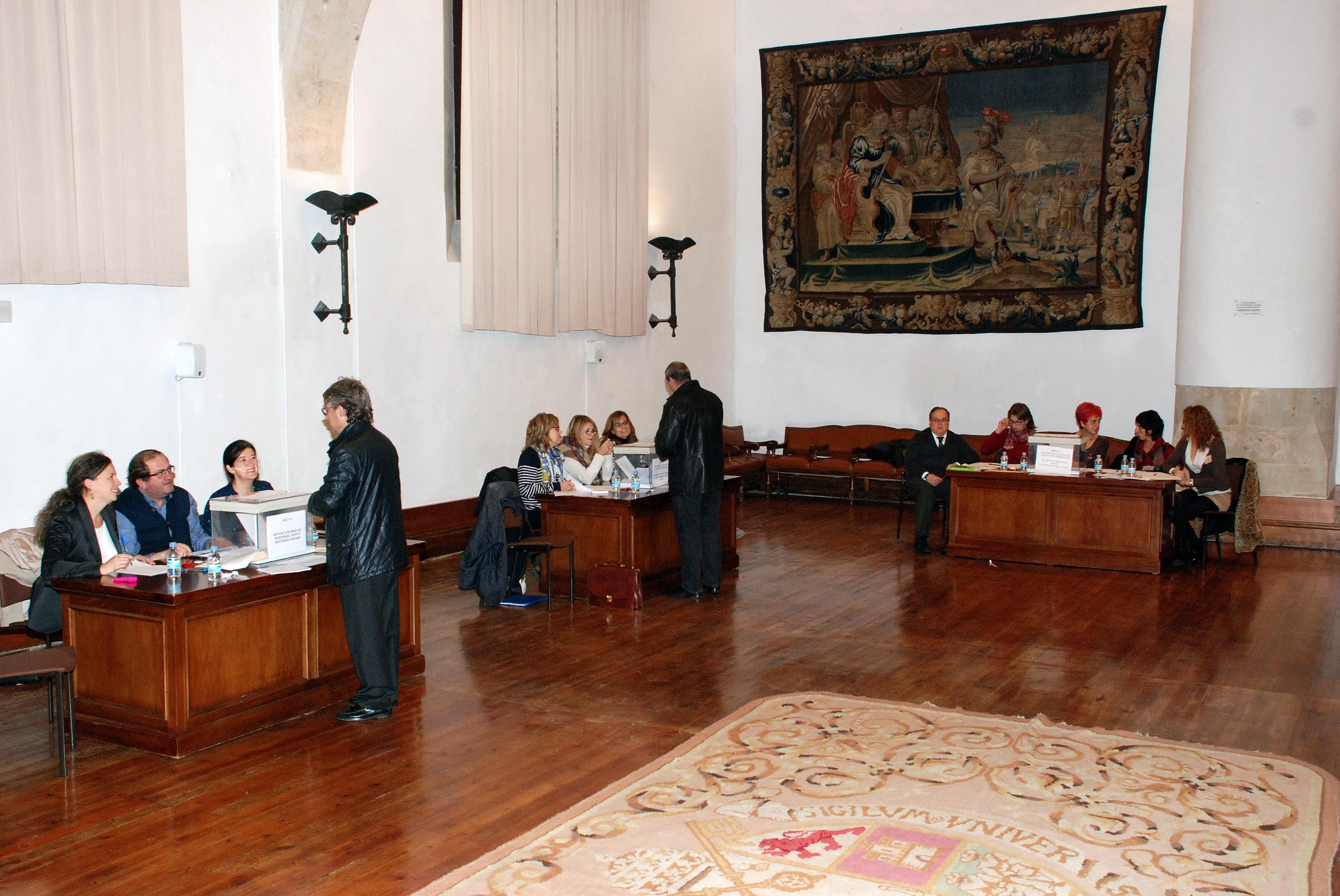 Elecciones al Claustro Universitario de la Universidad de Salamanca