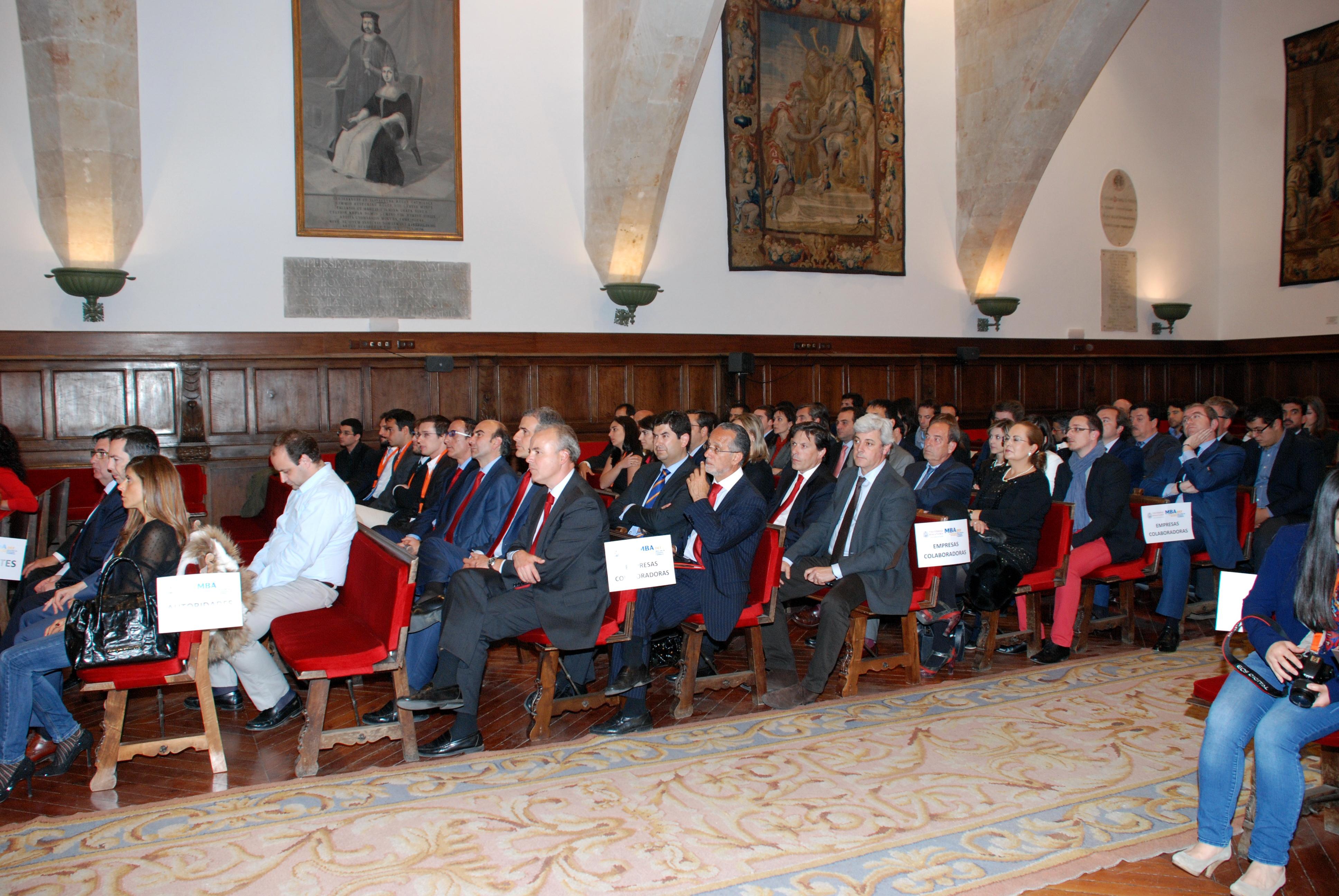 El MBA en Dirección de Empresas Familiares de la Universidad de Salamanca entrega el III Premio Empresa Colaboradora MBA DEF