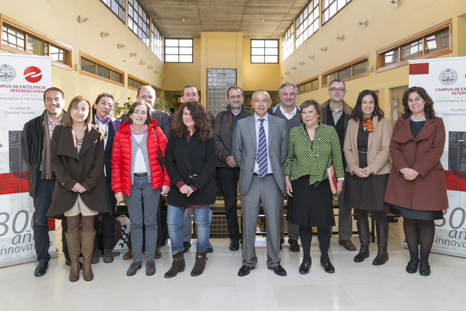 La Facultad de Ciencias Sociales acoge una reunión de la Conferencia de Decanos de Sociología de Universidades de España