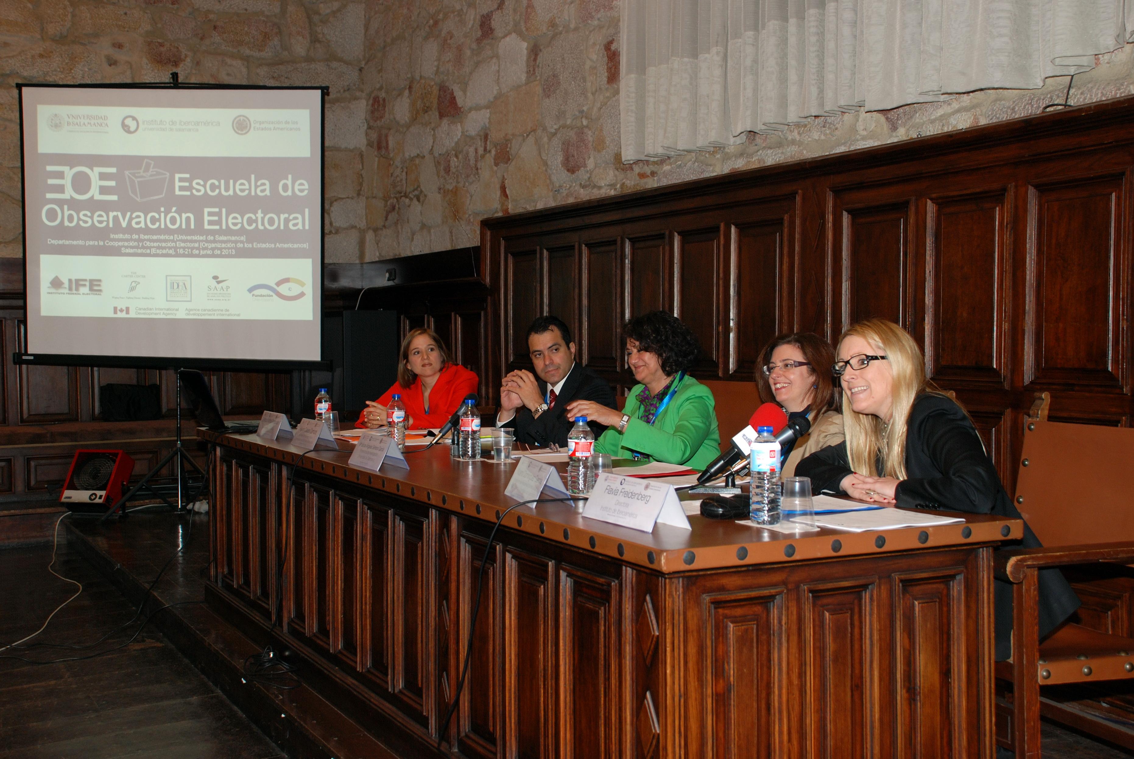El Instituto de Iberoamérica y la Organización de los Estados Americanos organizan la primera Escuela de Observación Electoral