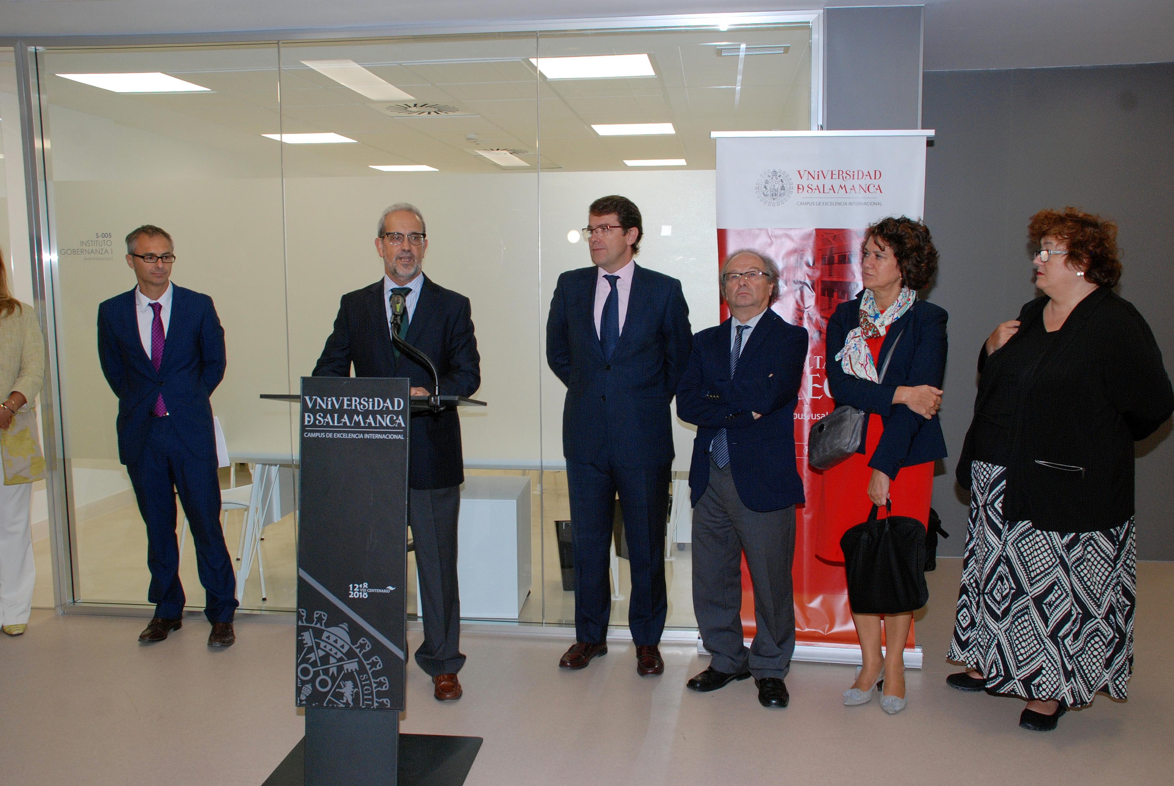 La Universidad de Salamanca inaugura sus nuevas dependencias para la investigación y docencia en la Facultad de Derecho