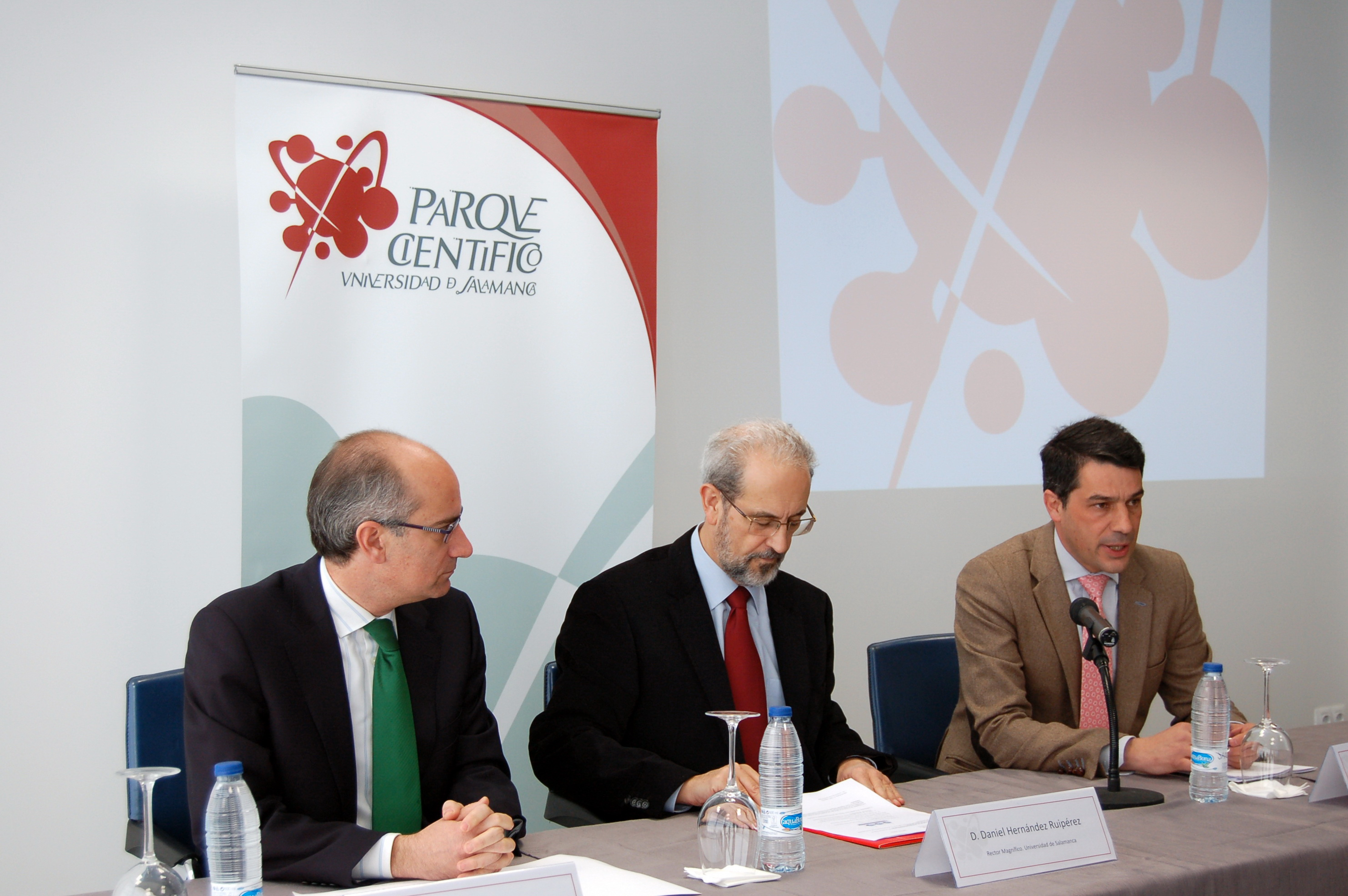 El Parque Científico de la Universidad de Salamanca acoge la presentación de la Estrategia de Empleo e Impulso de la Economía Provincial de la Diputación de Salamanca
