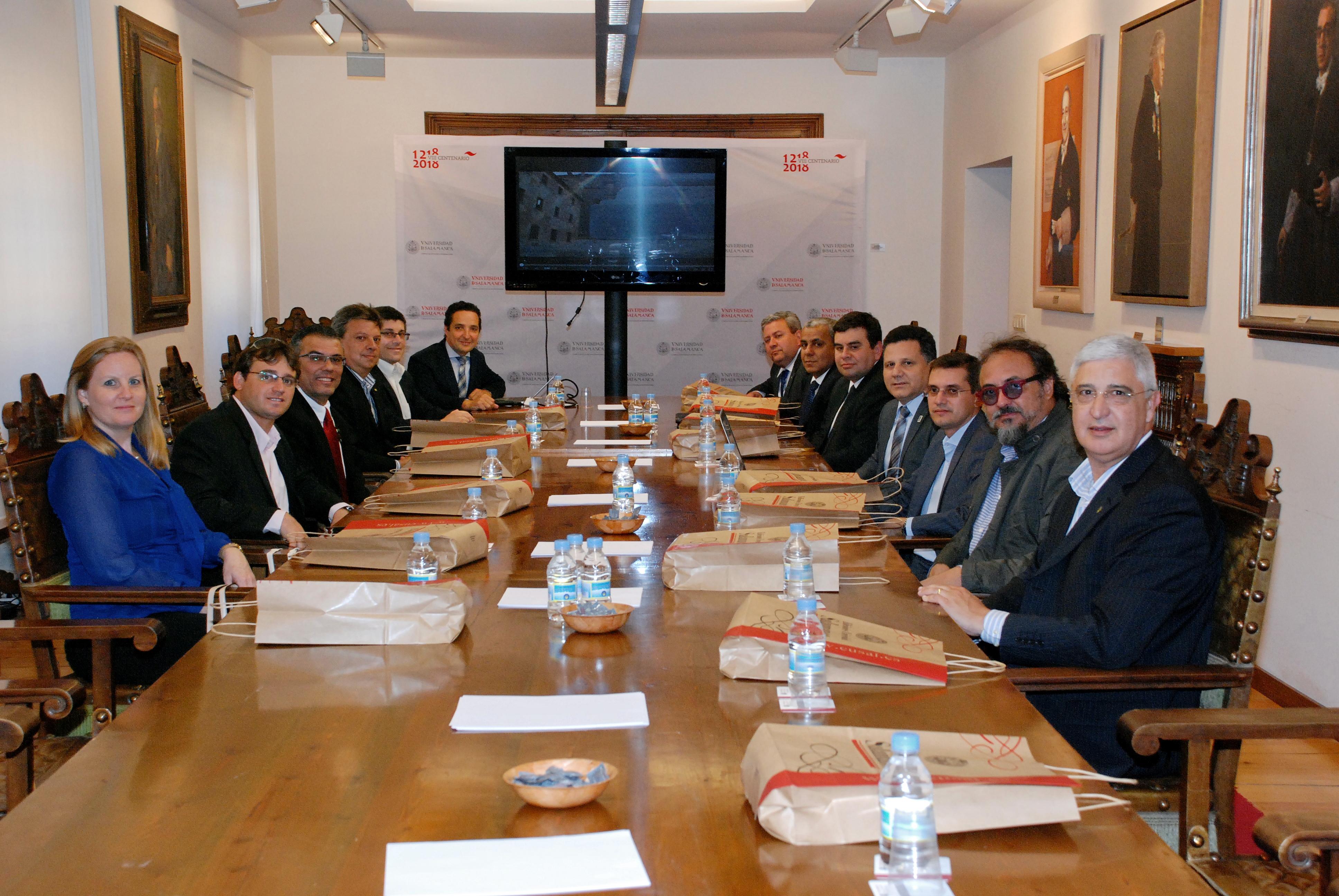 La Universidad de Salamanca ofrecerá formación de doctorado a estudiantes de más de 500 centros brasileños