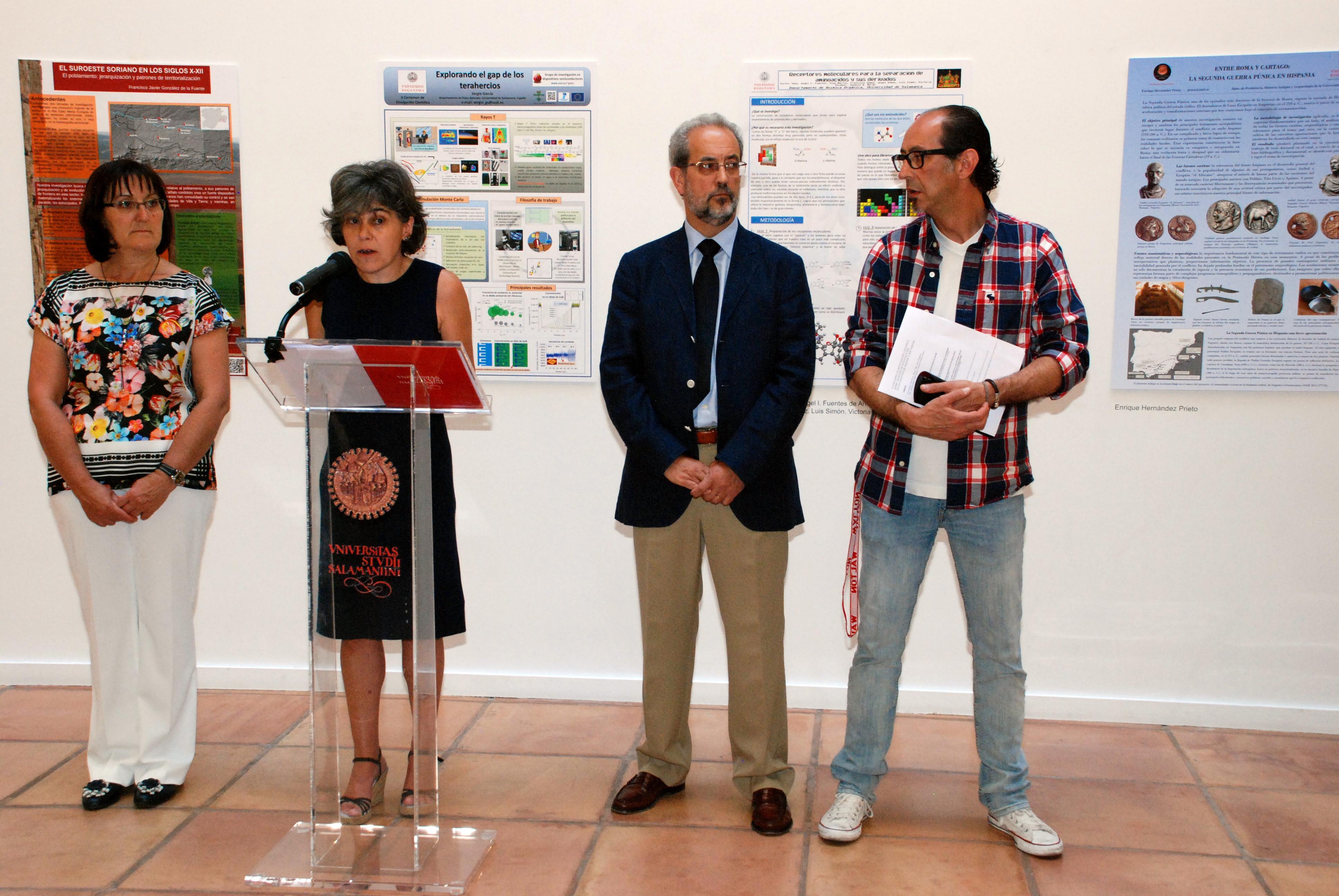 La Universidad de Salamanca entrega los premios del II Certamen de Divulgación Científica sobre trabajos de investigación de estudiantes de máster y doctorado