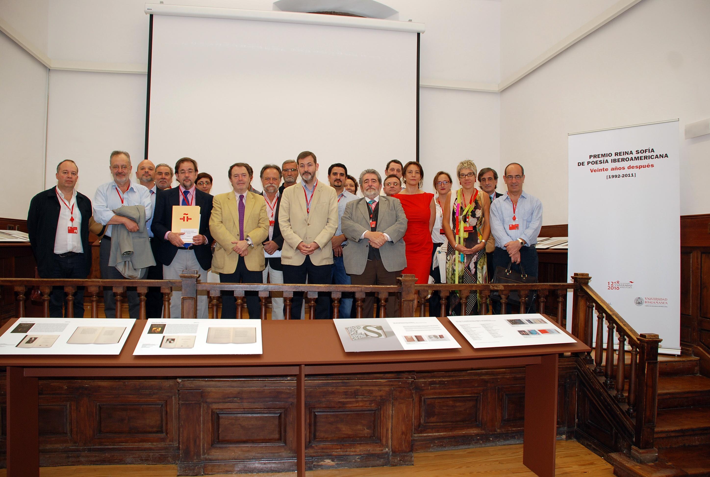 El Instituto Cervantes acogerá una muestra itinerante sobre el Premio Reina Sofía de Poesía Iberoamericana