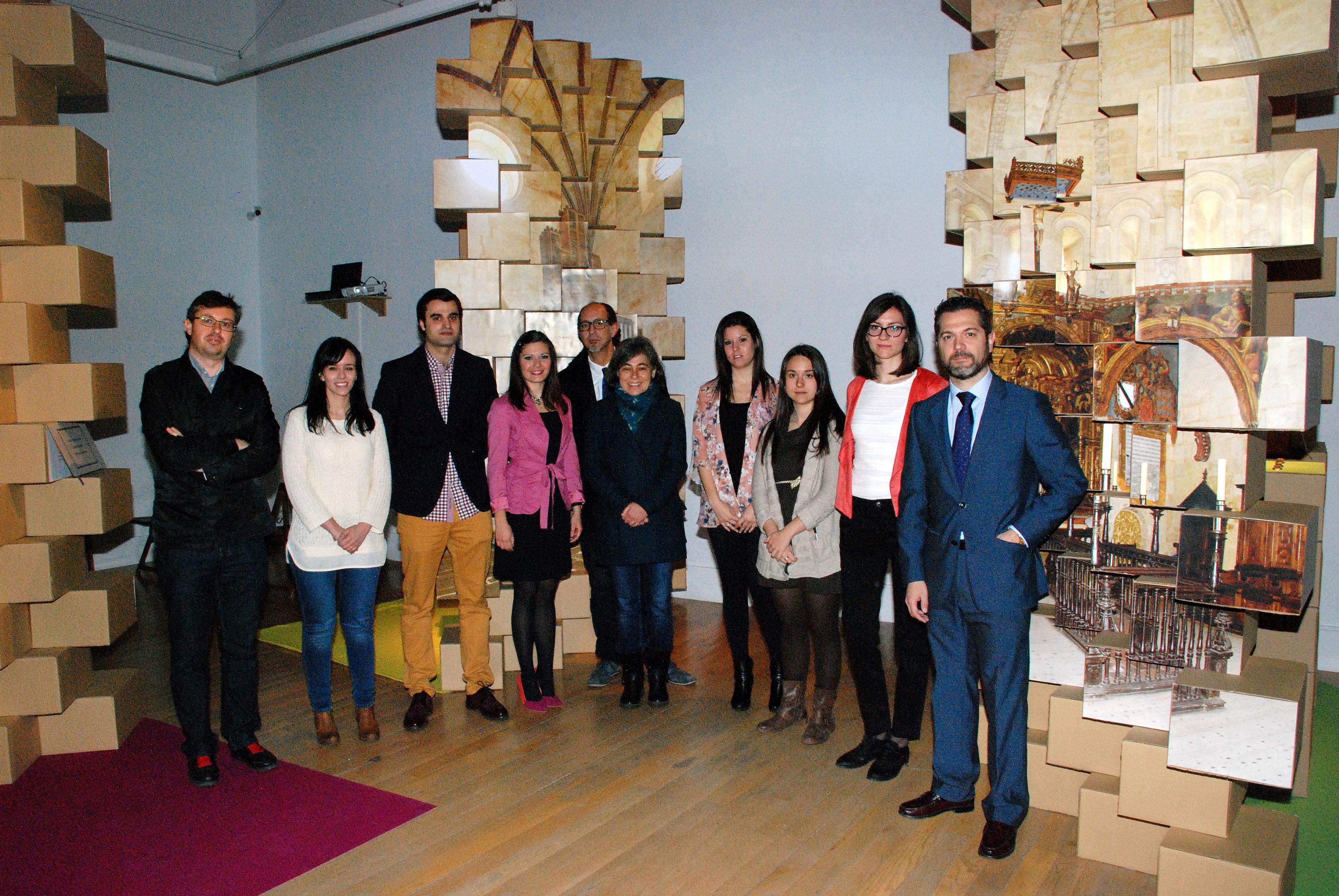 La Sala de exposiciones Cielo de Salamanca acoge la inauguración del proyecto 'Anecdotum. Ocho siglos, cinco sentidos'