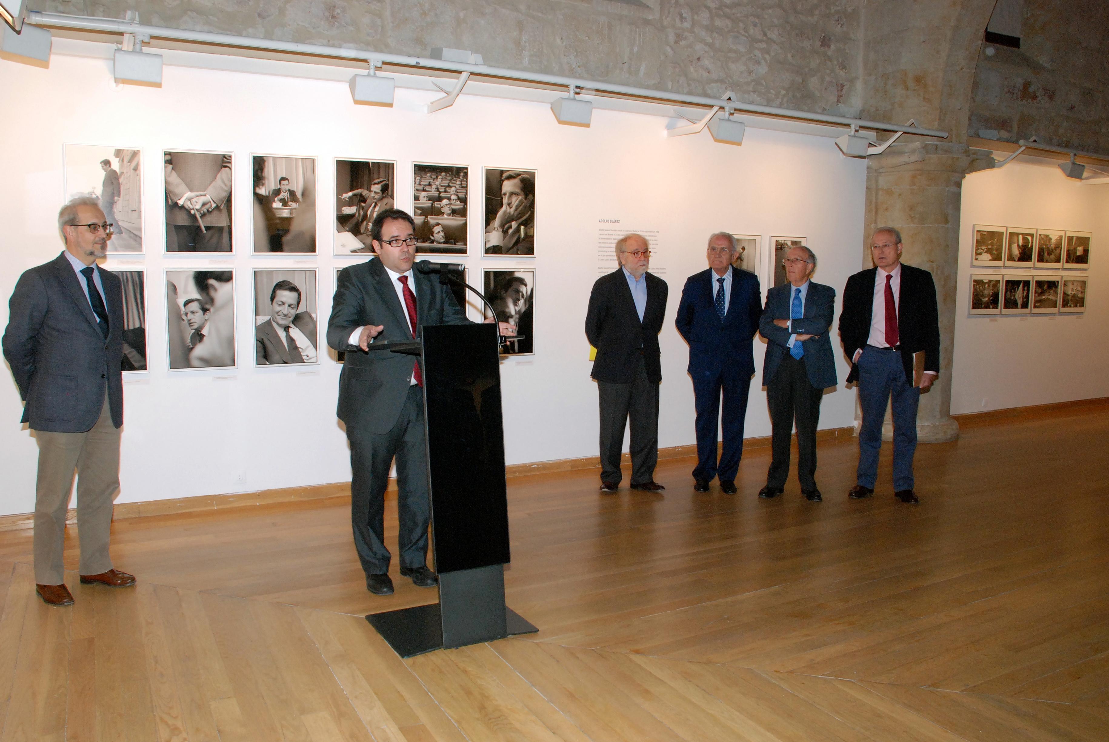 La Universidad de Salamanca tributa un homenaje a Adolfo Suárez con unas jornadas de estudio sobre su biografía política y su papel en la Transición a la democracia en España