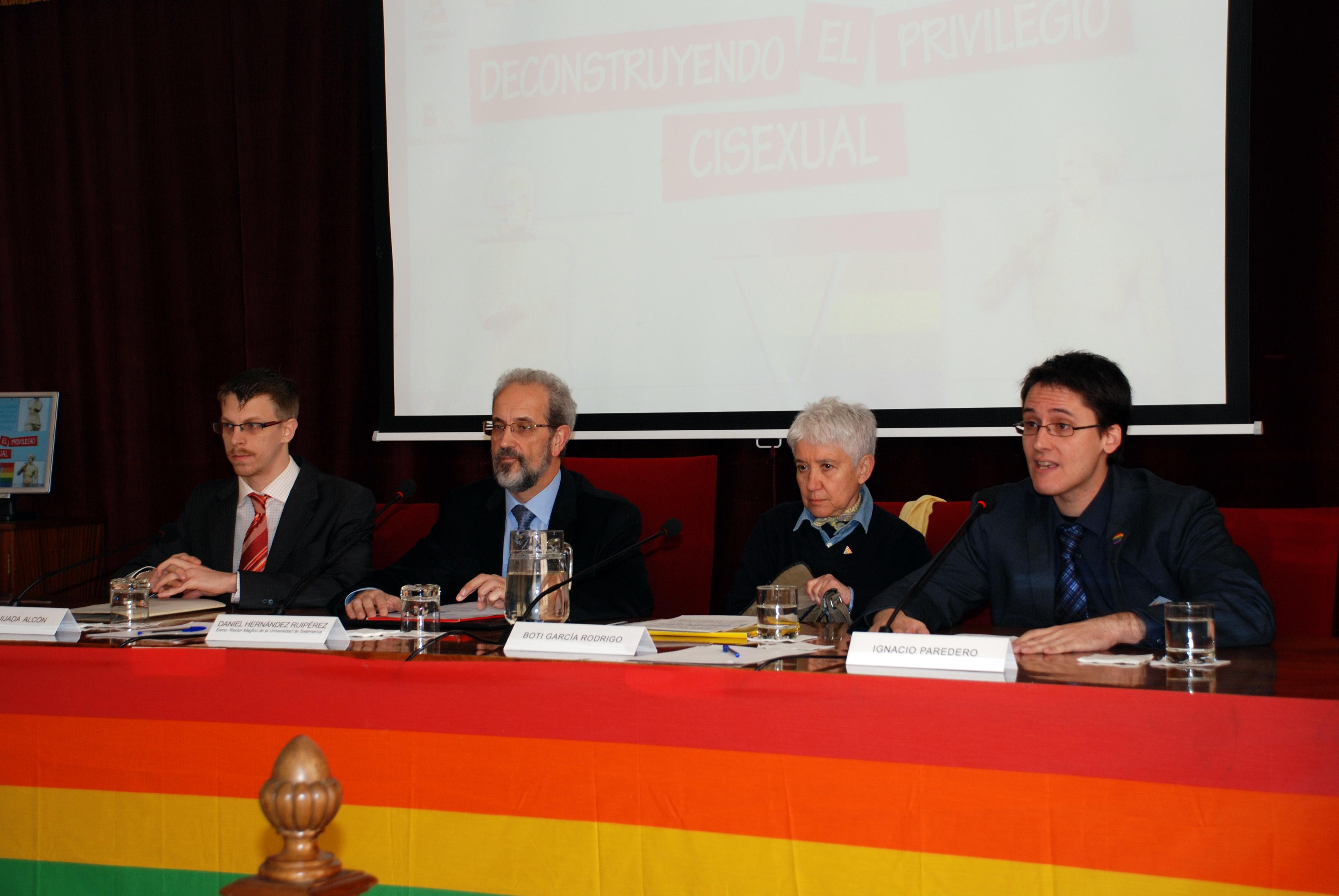 La Facultad de Derecho acoge la quinta edición del curso sobre homosexualidad, bisexualidad, transexualidad y heterosexualidad