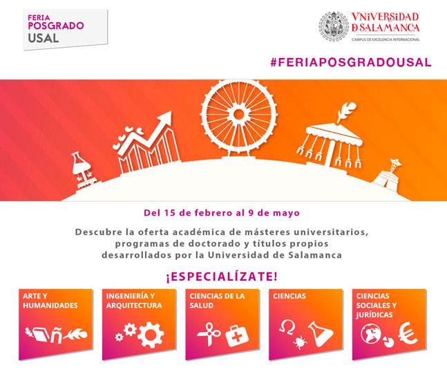 II Feria de Posgrado de la Universidad de Salamanca