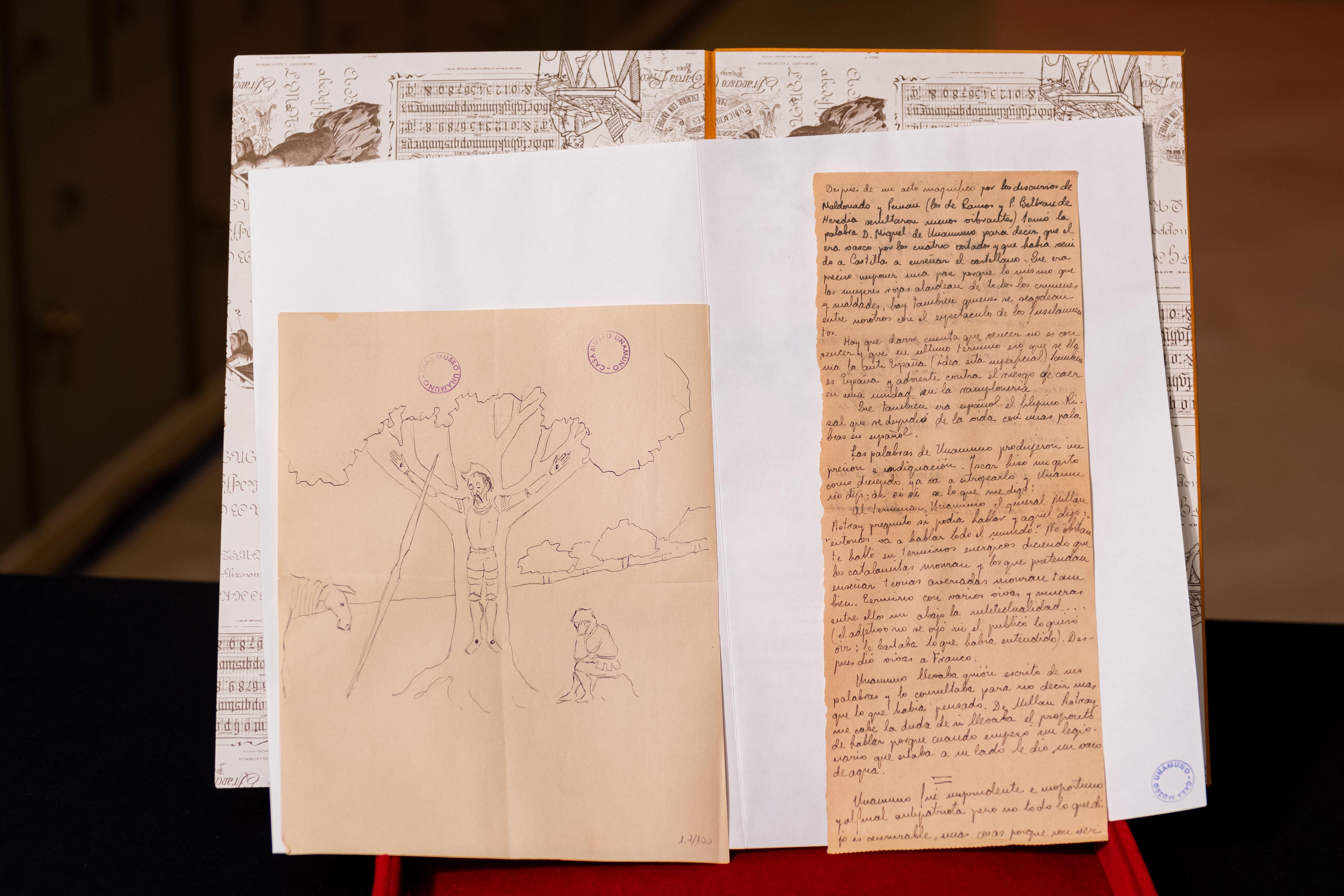 La Caja de las Letras del Instituto Cervantes recibe como legado «in memoriam» una muestra documental de Miguel de Unamuno