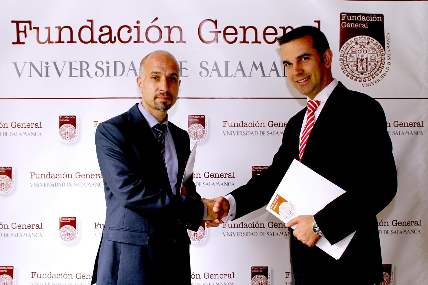 La Fundación General de la Universidad de Salamanca y la empresa Feyce suscriben un convenio de colaboración