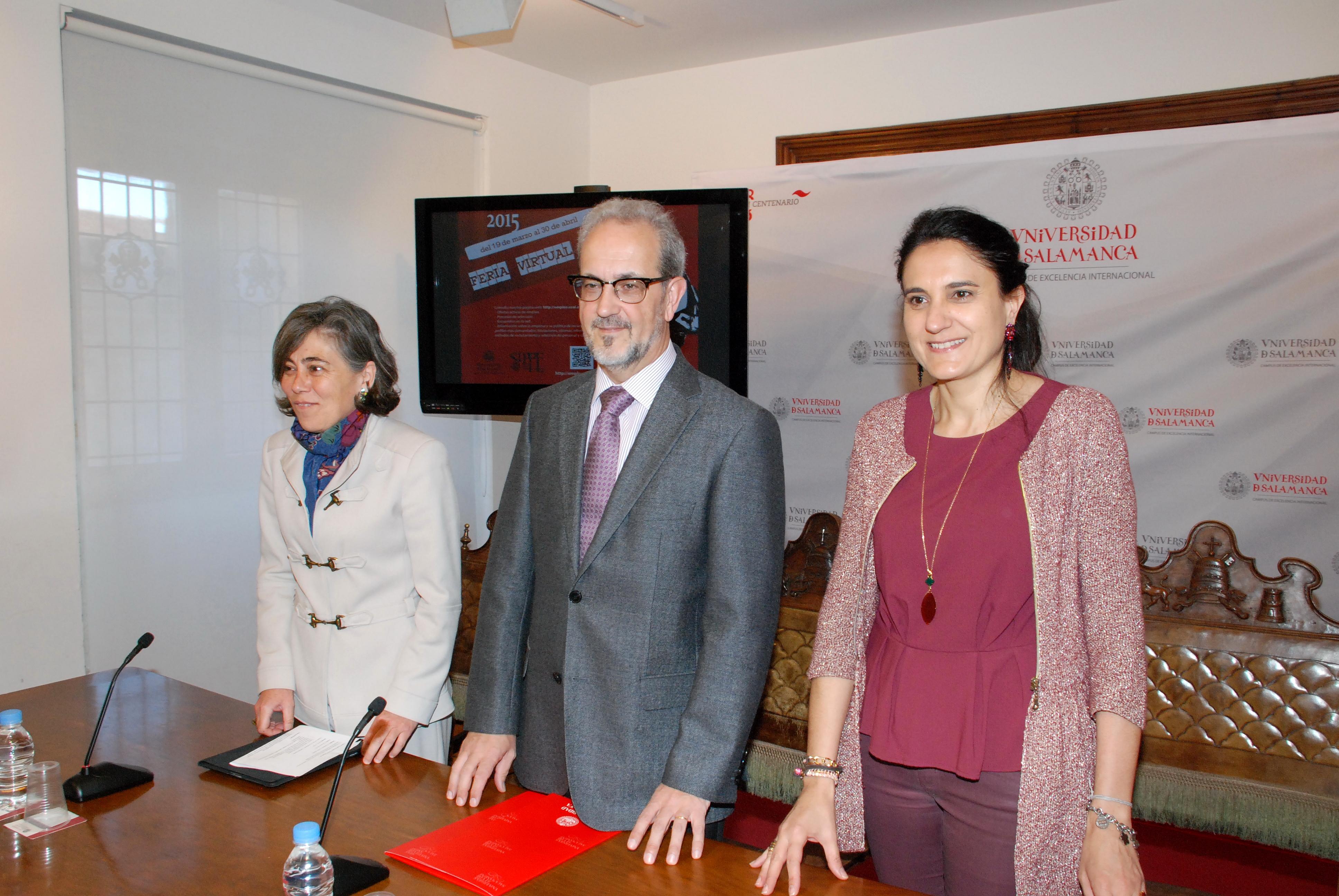 20 empresas, con alrededor de 50 ofertas activas de empleo, participan en la Feria Virtual de Empleo de la Universidad de Salamanca