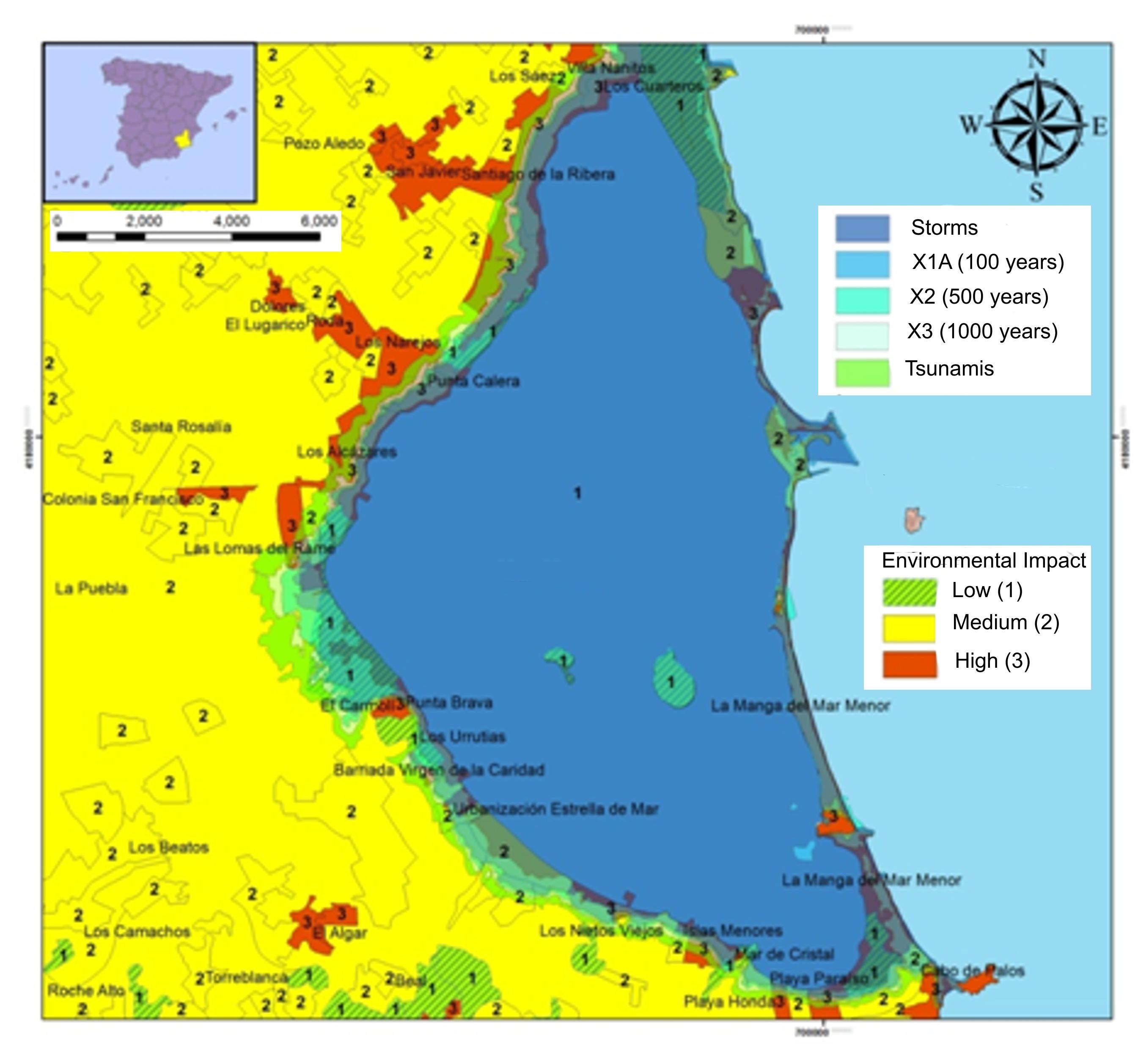 Científicos de la USAL alertan del riesgo de subida del nivel del agua del Mar Menor en hasta 1,5 m. durante el próximo siglo por el aumento de la temperatura global