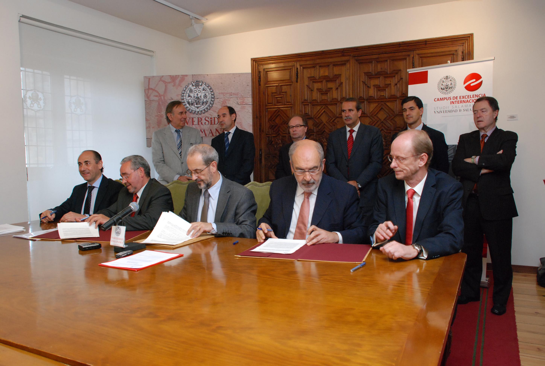 Enusa colabora con la Fundación del Patrimonio Histórico y la Universidad de Salamanca para restaurar la fachada