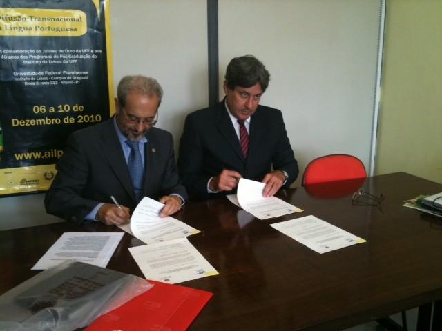 El rector impulsa la creación de la Red de Universidades Brasileñas vinculadas al Campus de Excelencia Internacional
